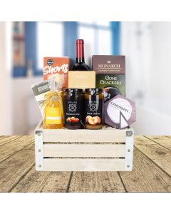Wine & Snack Basket
