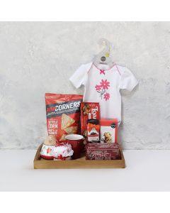 New Baby Snack Platter Gift Basket