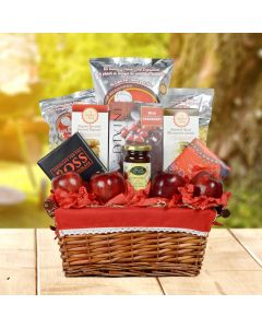 Festive Kosher Apple Gift Basket