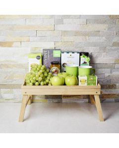 Green Gourmet Breakfast Tray