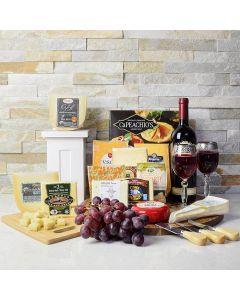 Supreme Wine & Cheese Gift Set