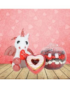 Sweet Valentine's with Hugs Gift Basket