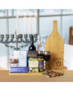 Kosher Wine & Cheese Platter