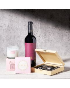 BOSS Deluxe Wine Pairing Chocolate Bars - Trio Gift Set, Wine Gift Baskets, Gourmet Gift Baskets, USA Delivery