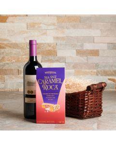Chocolate & Wine Kosher Gift Basket
