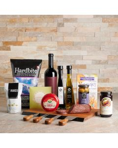 The Bountiful Snack Gift Set, Wine Gift Baskets, Gourmet Gift Baskets, USA Delivery