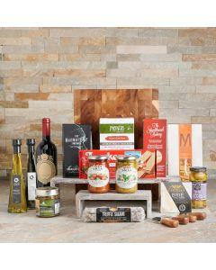 Italian Gourmet & Wine Basket