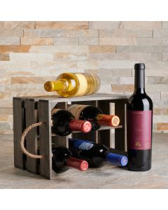 The Brindisi Six Wine Basket - With Premium Wines