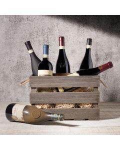 Hazelton's Six Wine Crate with Premium Vintage Wine