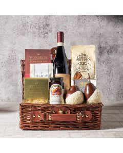 The Distinctive Chocolate Pear Gift Basket, Gourmet Gift Baskets, Wine Gift Baskets, USA Delivery