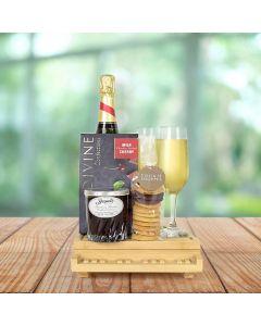 Sweet Pepper Gourmet Champagne Gift Basket