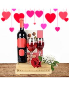 Wine & Chocolate for Mom Gift Basket