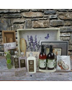 The Lavender Spa Gift Tray