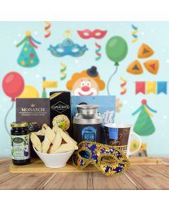 Purim Coffee & Snacks Basket
