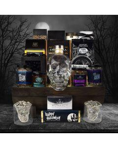 Spooky Skull Halloween Gift Basket
