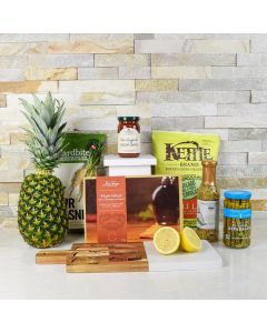 Exotic Flavors Gift Basket