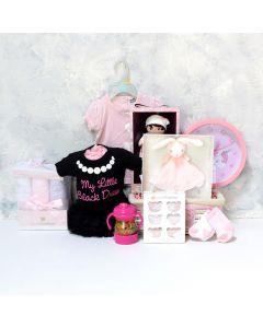 BABY GIRL'S BEDROOM & PLAYSET