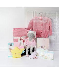 THE DREAMY UNICORN BABY GIRL GIFT BASKET
