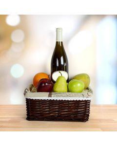 Wine & Fruit Apple Box