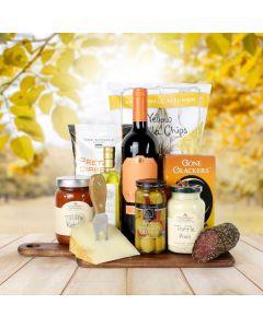 The Thanksgiving Wine & Snacks Platter