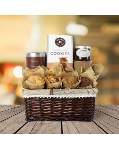 Hot Chocolate & Muffins Gift Basket