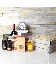 Wine & Snacking Box