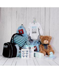 THE BABY BOY TRAVEL NECESSITIES GIFT SET
