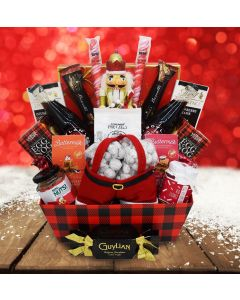 The Festive Nutcracker Christmas Gift Basket