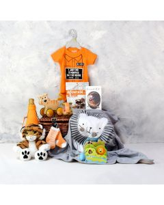 Unisex Baby's Play & Celebration Set with Champagne