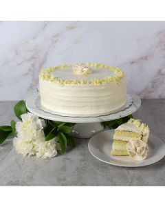 Large Vanilla Layer Cake