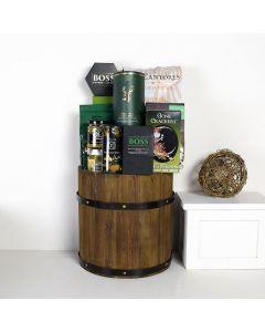 50 Shades of Green Liquor Gift Basket