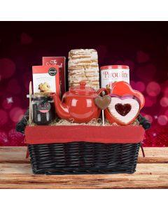 Tea Time & Treats Gift Basket