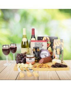 Luxurious Cheese & Wine Gift Set