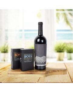Boss Deluxe Wine Pairing Chocolate Bars - Duo Gift Set