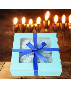 Hanukkah Cookie Gift Basket