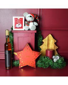 Wine & Chocolate Christmas Basket