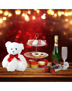 Sweets & Cuddles Gift Basket