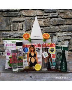 """""""For the Health Nut"""" Healthy Gift Basket"""
