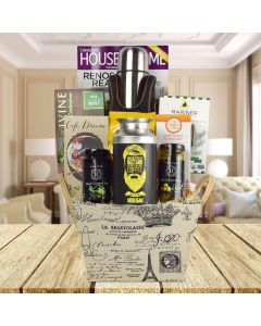 Express Coffee Tote Gift Basket