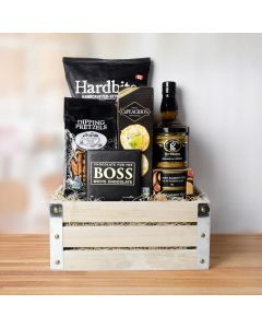 Sweet Heat Liquor Gift Crate