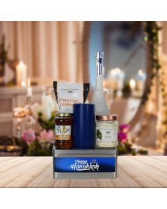 Happy Hanukkah Liquor Gift Basket