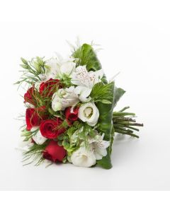 Celebrate Unity Red and White Bouquet