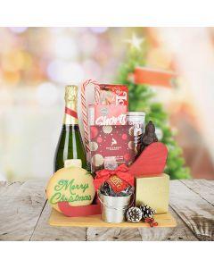 Yuletide Champagne Gift Set
