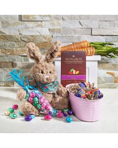 Baby Bunny Easter Sweets Gift Basket