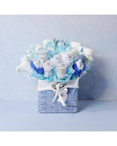 THE CONGRATULATIONS BOUQUET FOR THE BABY BOY