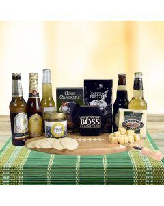 The Football Beer & Cheese Board