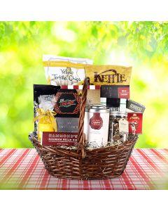 Classy Snacking Gift Basket