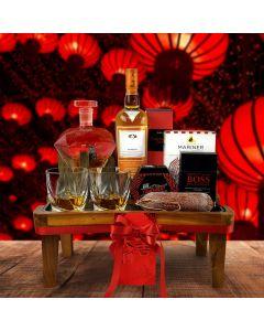 Prosperous Lunar New Year Gift Basket