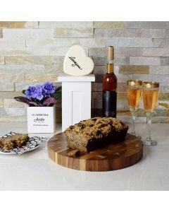 Delectable Wine Gift Basket