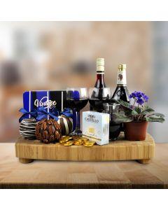 The Luxury Hanukkah Wine and Cheese Board